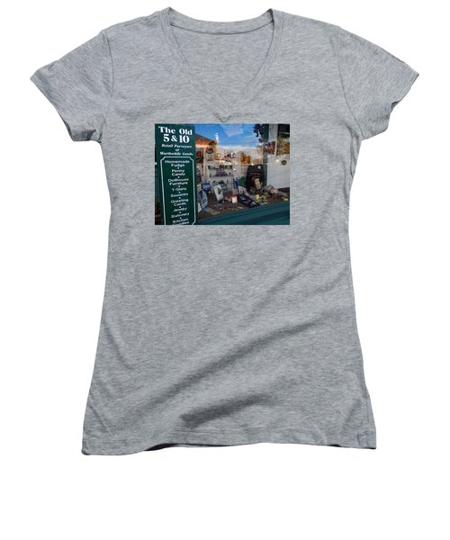 Old 5 And 10 North Conway Women's V-Neck