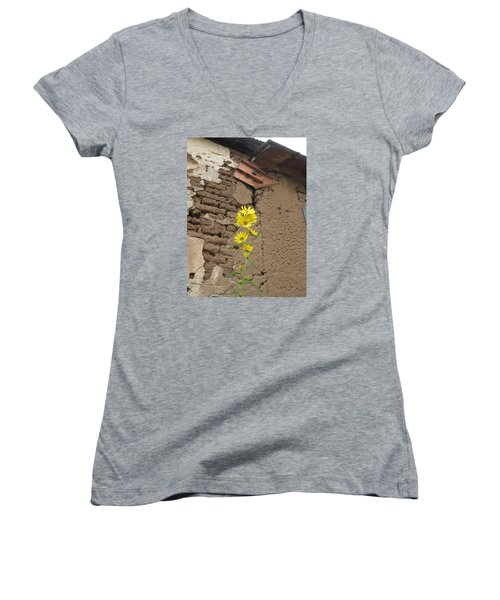 Old And New Women's V-Neck