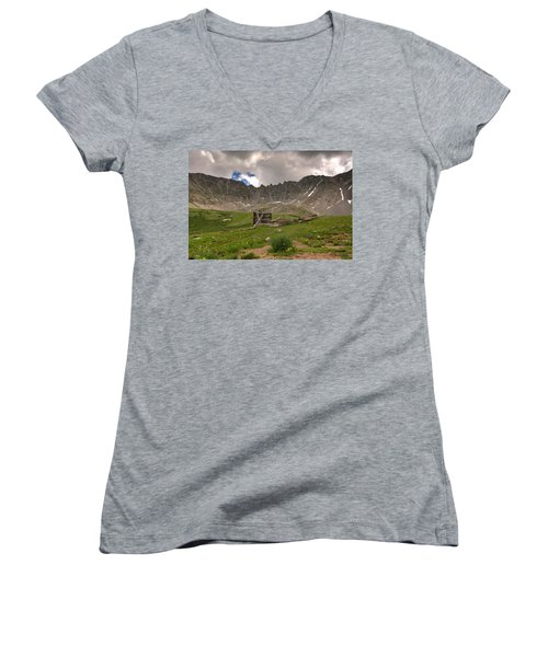 Old Cabin Women's V-Neck