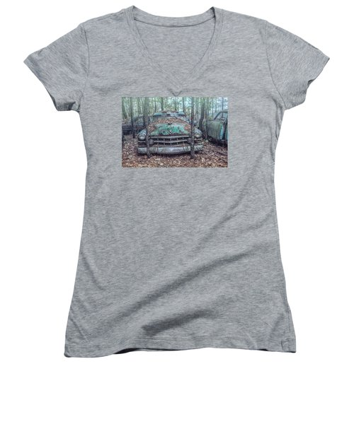 Old Caddy Women's V-Neck