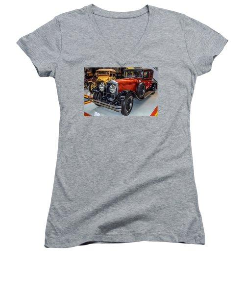 Old Car Women's V-Neck