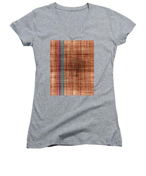 Old Fabric Women's V-Neck