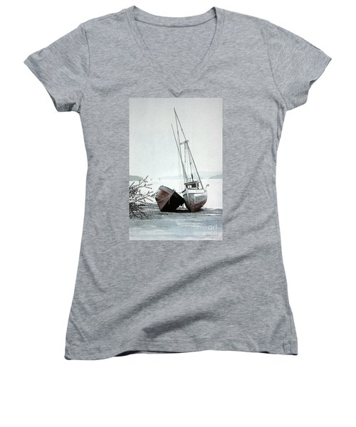 Old Friends Women's V-Neck (Athletic Fit)