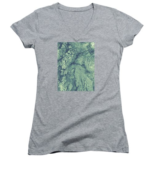 Old Man Tree Women's V-Neck (Athletic Fit)