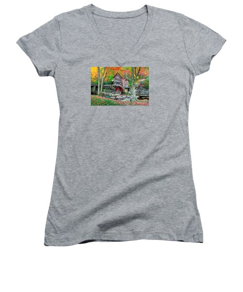 Old Mill Women's V-Neck (Athletic Fit)