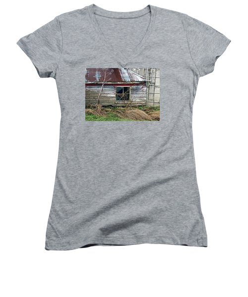 Old Pump House Women's V-Neck