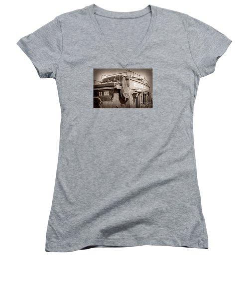Old Santa Fe Stagecoach Women's V-Neck