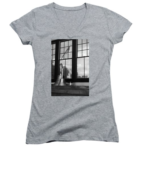 Old School Women's V-Neck T-Shirt