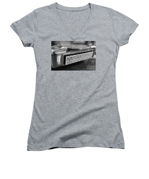 Old Time Rock And Roll Women's V-Neck T-Shirt