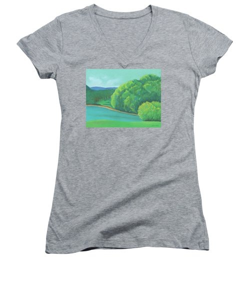Omega Morning Women's V-Neck