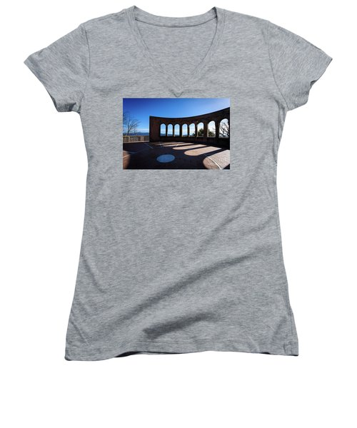 On A Clear Day Women's V-Neck T-Shirt