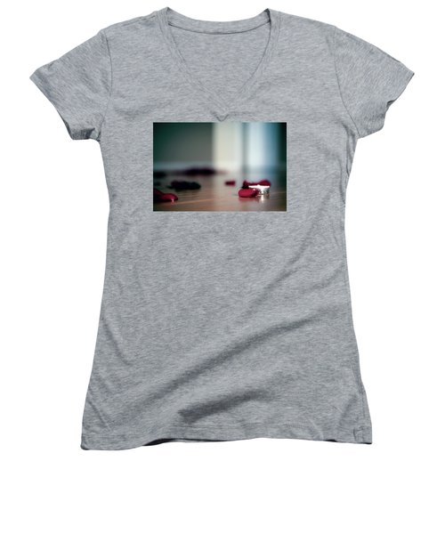 On Nature, Tragedy, And Beauty II Women's V-Neck