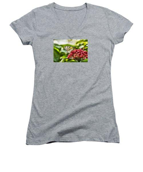 On The Color Women's V-Neck T-Shirt