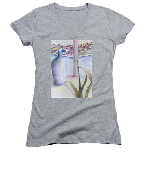 On The Deck Women's V-Neck T-Shirt