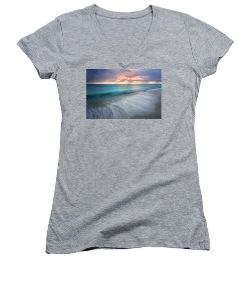 On The Horizon  Women's V-Neck T-Shirt