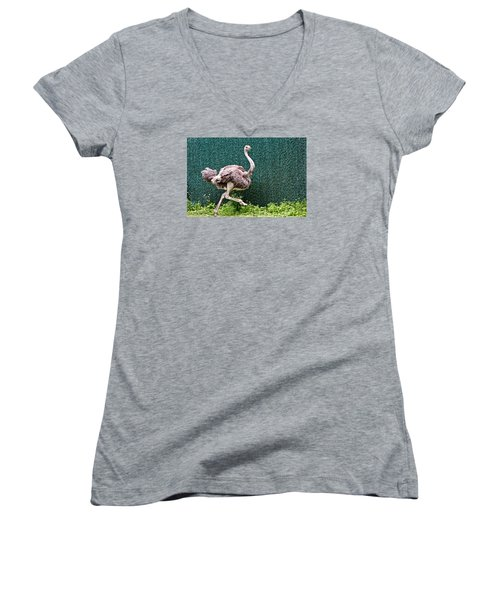 On The Run Women's V-Neck (Athletic Fit)