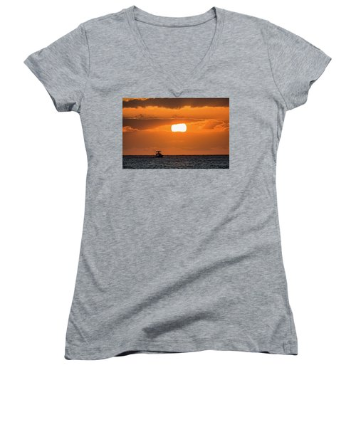 On The Water Women's V-Neck