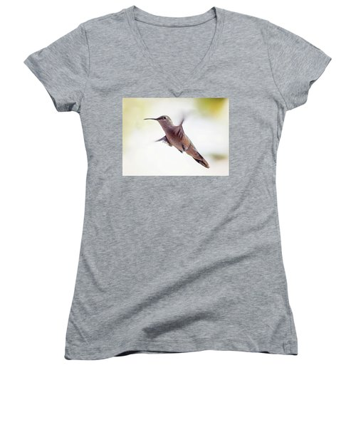 On The Wing Women's V-Neck (Athletic Fit)