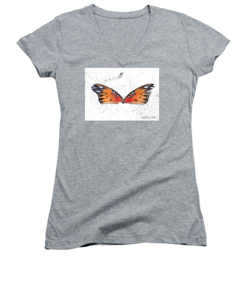 Once Flown Women's V-Neck (Athletic Fit)