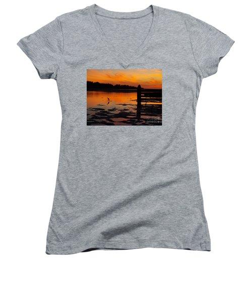 One Bird Women's V-Neck T-Shirt