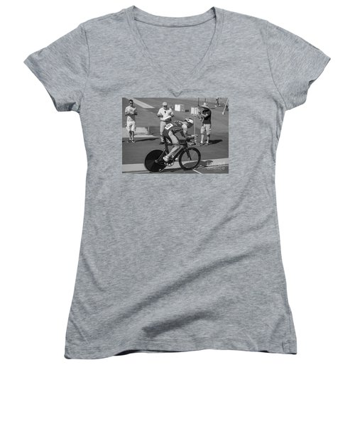 One Lap To Go Women's V-Neck