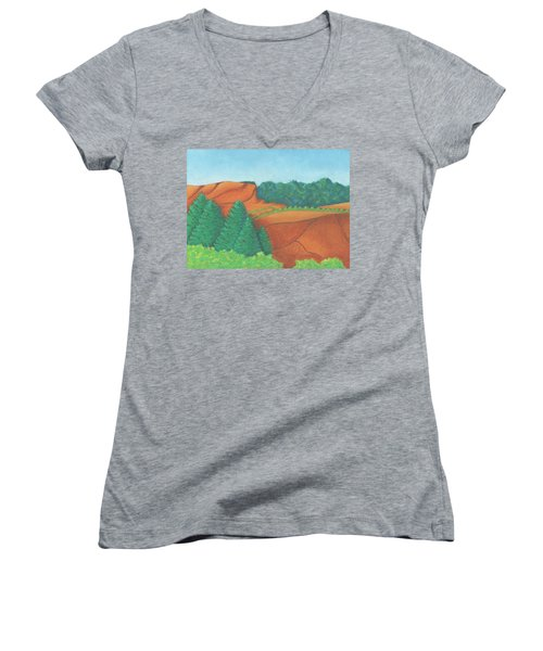 One Mesa Women's V-Neck