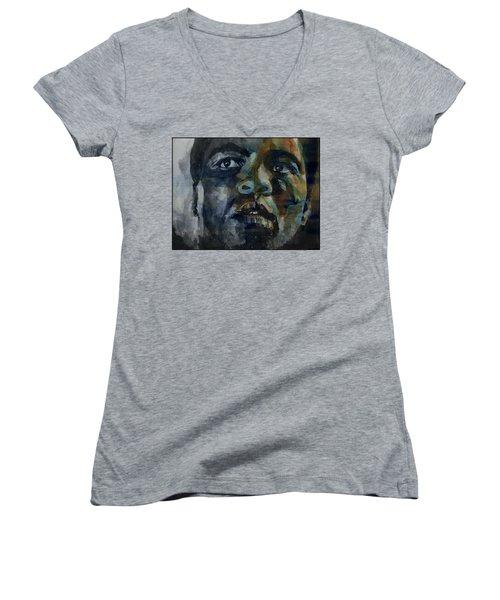 One Of A Kind  Women's V-Neck T-Shirt (Junior Cut)