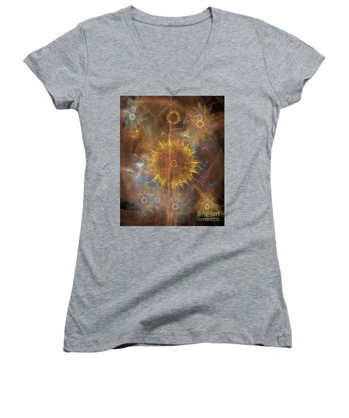 One Ring To Rule Them All Women's V-Neck T-Shirt (Junior Cut)