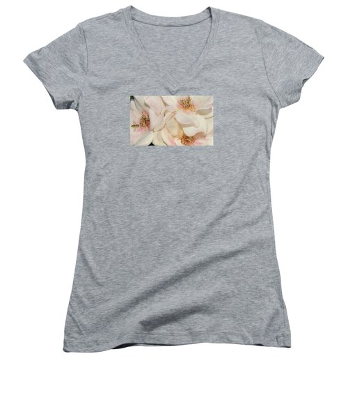 One Small Visitor Women's V-Neck