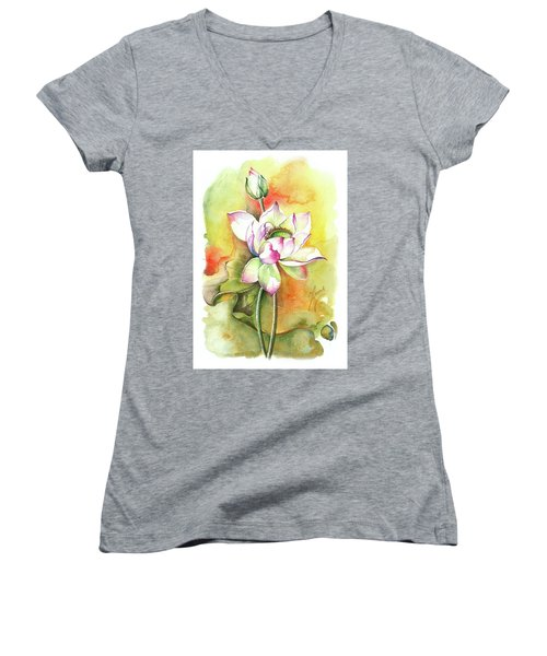 One Sunny Day Women's V-Neck T-Shirt