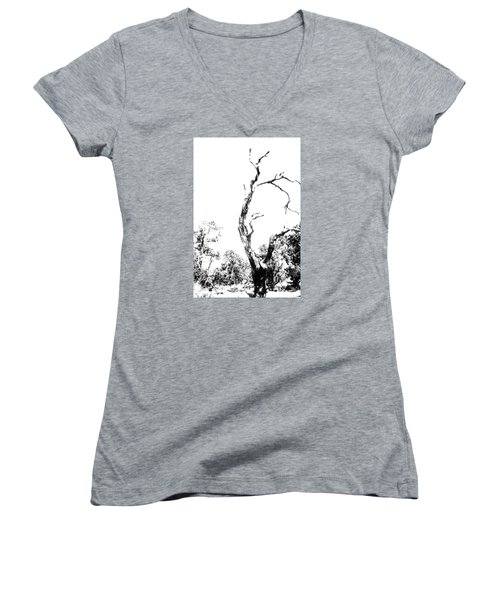 One Tree - 0192 Women's V-Neck T-Shirt
