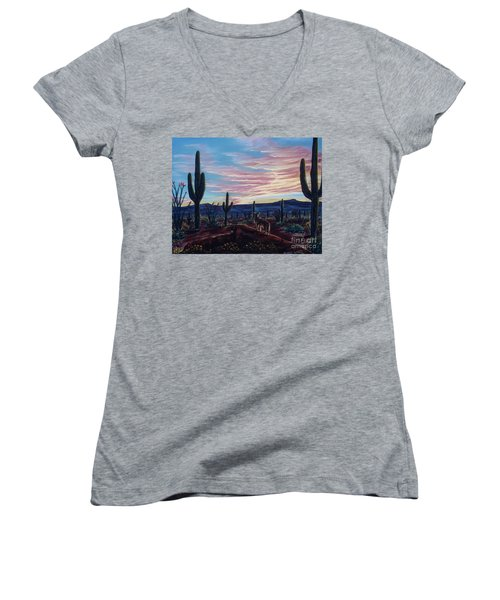 Only For A Moment Women's V-Neck