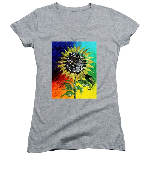 Open Women's V-Neck