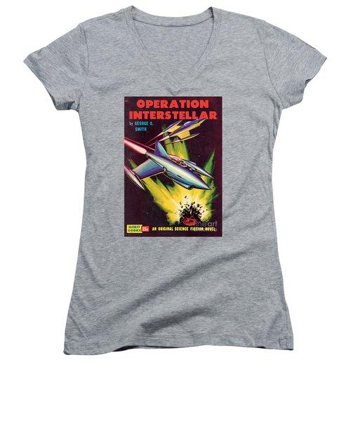 Operation Interstellar Women's V-Neck