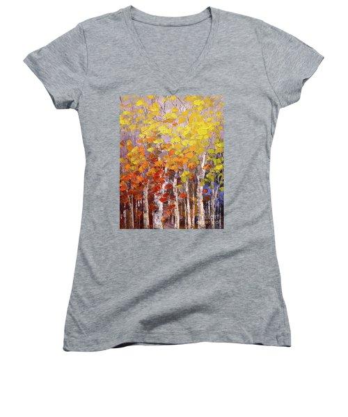 Operation October Women's V-Neck T-Shirt