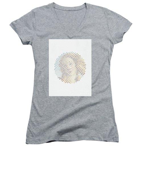 Optical Illusions - Famous Work Of Art 2 Women's V-Neck T-Shirt