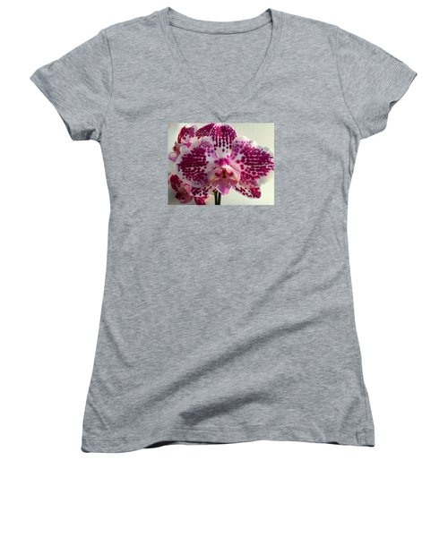 Orchid 13 Women's V-Neck T-Shirt