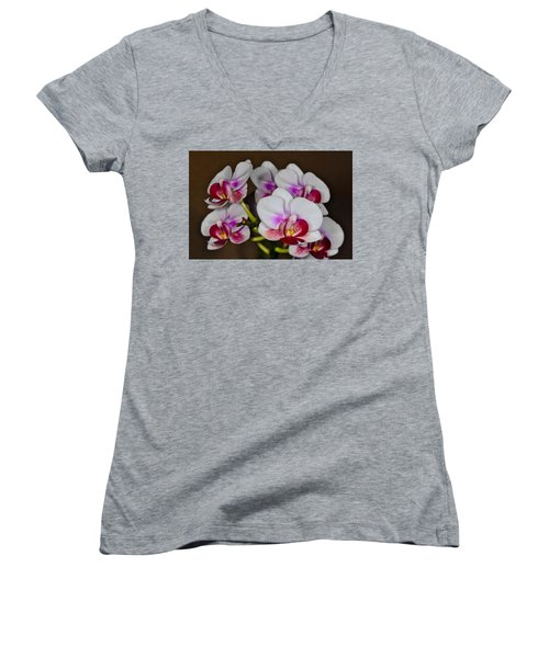 Orchid 306 Women's V-Neck (Athletic Fit)