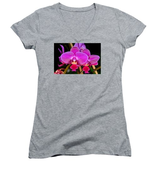 Orchid 422 Women's V-Neck (Athletic Fit)