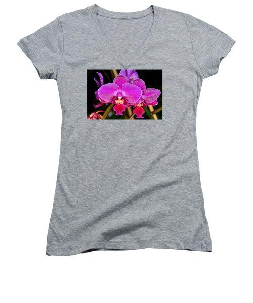Orchid 422 Women's V-Neck T-Shirt