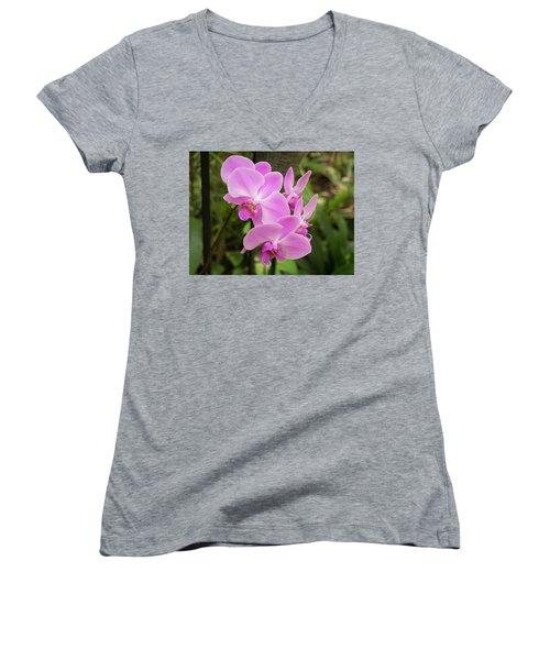 Orchid #6 Women's V-Neck