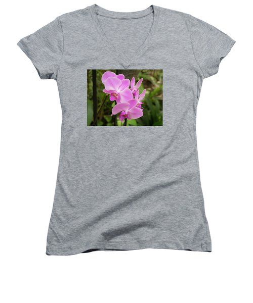 Orchid #6 Women's V-Neck