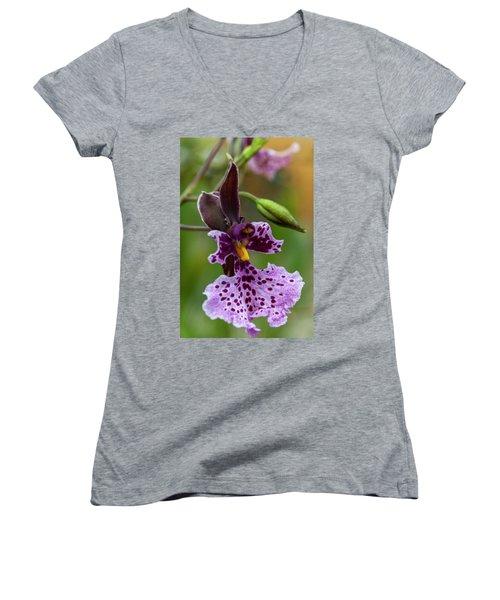 Orchid - Caucaea Rhodosticta Women's V-Neck