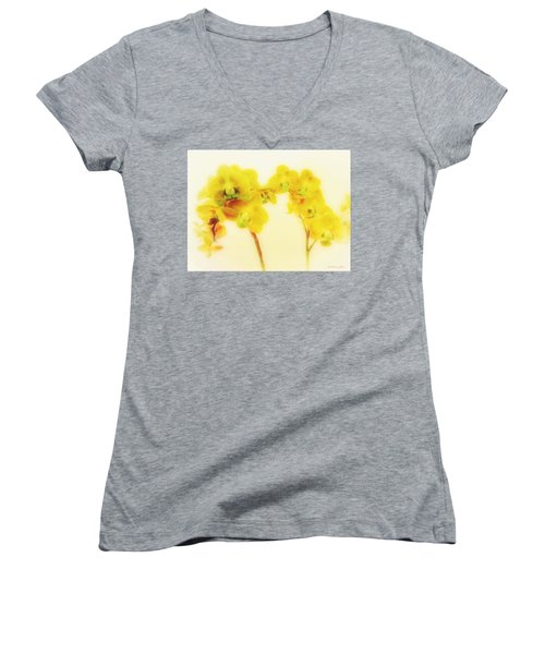 Orchid Collection 'summer' Women's V-Neck (Athletic Fit)