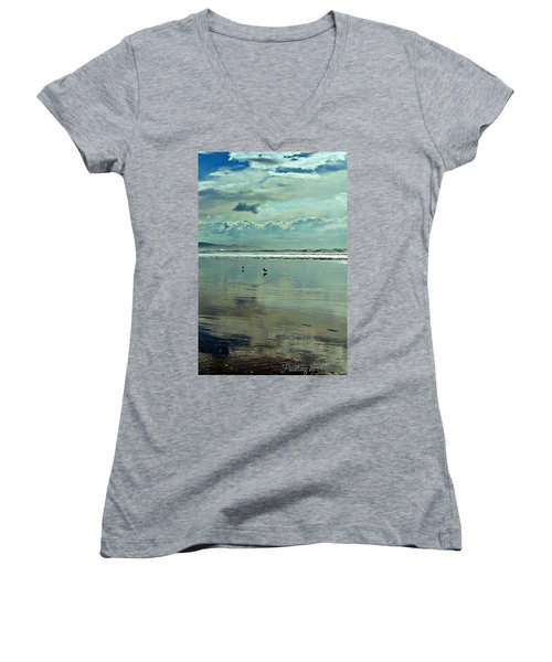 Oregon Coast 6 Women's V-Neck T-Shirt