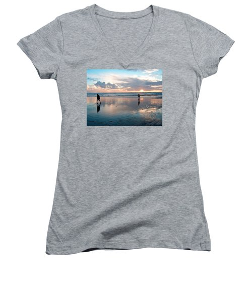 Oregon Coast 7 Women's V-Neck T-Shirt
