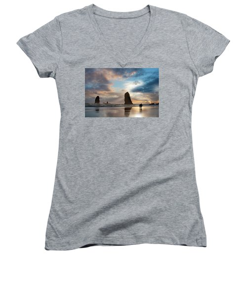 Oregon Coastine Women's V-Neck