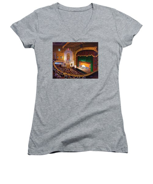 Organ Club - Jefferson Women's V-Neck