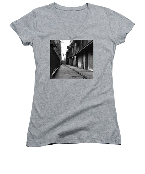 Orleans Alley Women's V-Neck T-Shirt