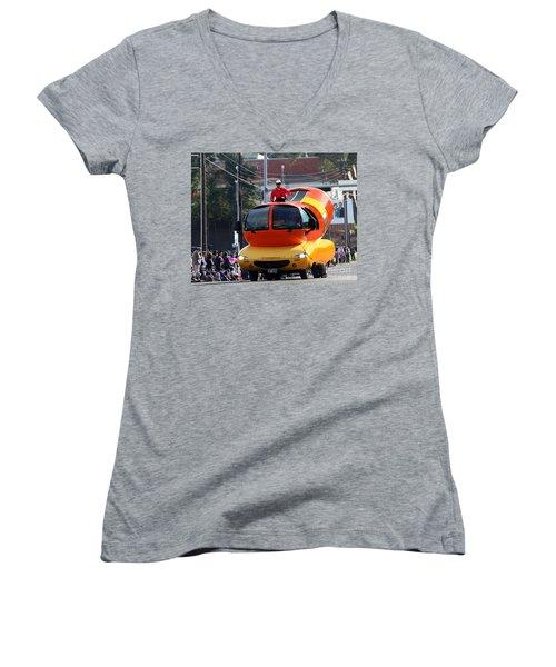 Oscar Mayer Wienermobile Women's V-Neck (Athletic Fit)
